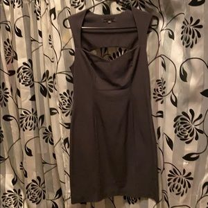 Cute fitted gray dress✨